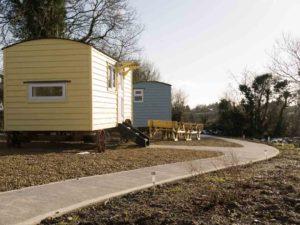 Sheperds Huts at Bramblewick House Longford