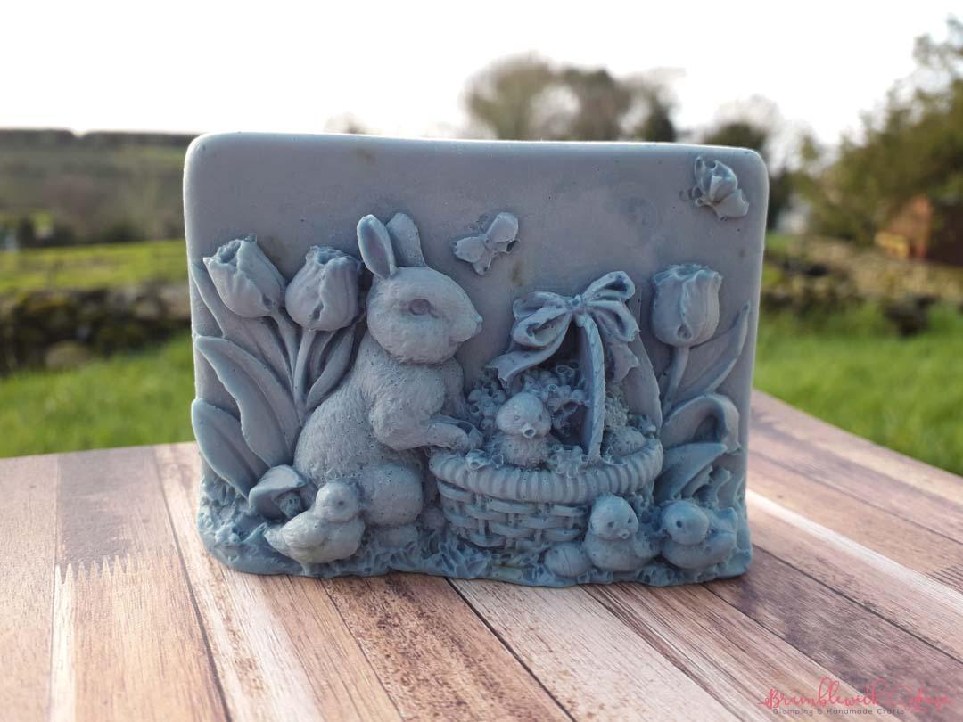 Lavender Easter Bunny Soap