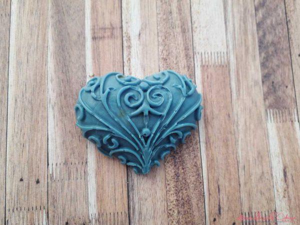 Lavender Small Heart Soap