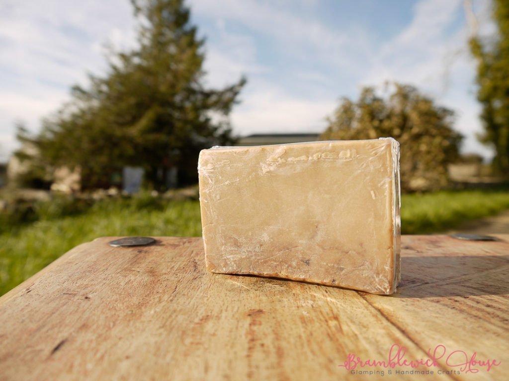 Rose & Vanilla Square Soap