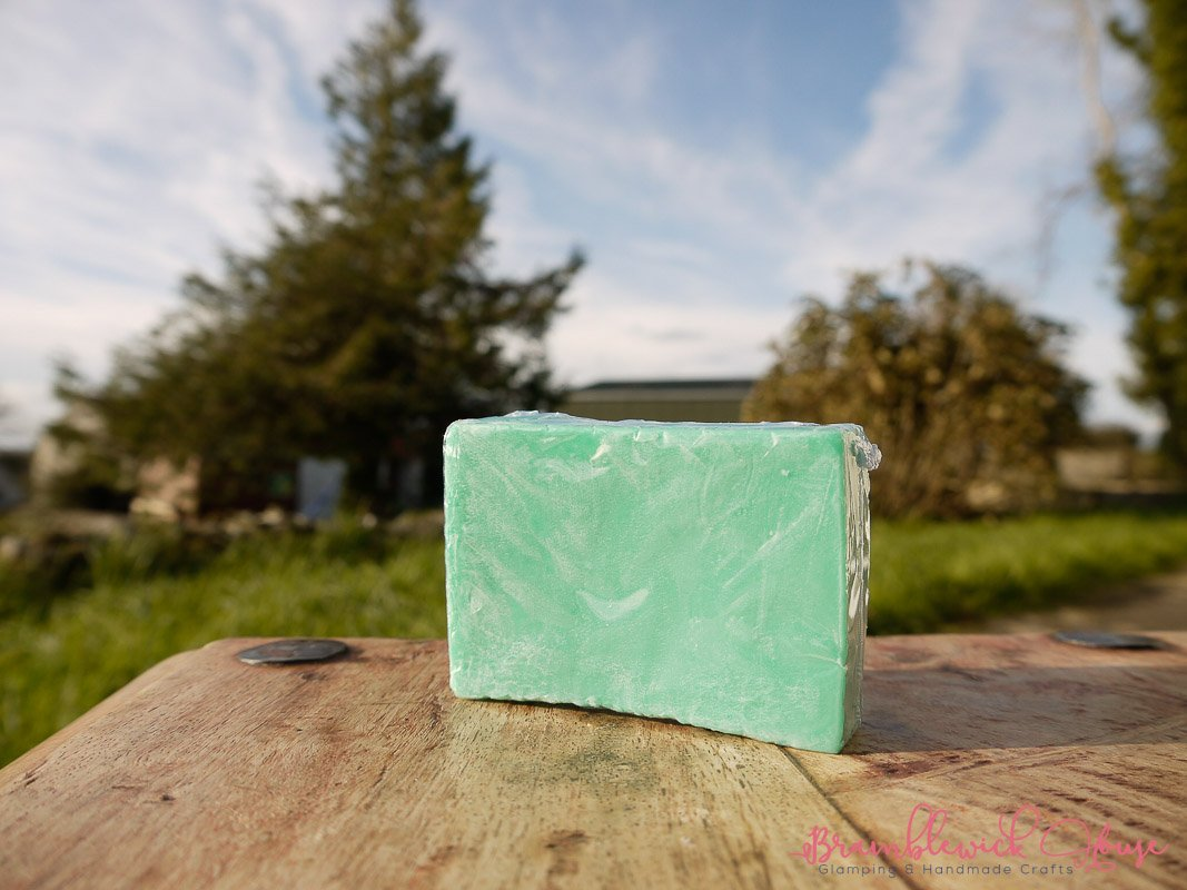 Spearmint and Eucalyptus Square Soap