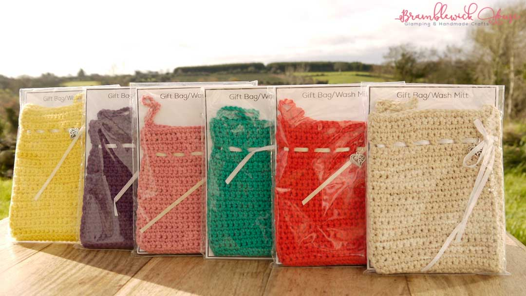 Bramblewick House Wash mitts Crochet bag