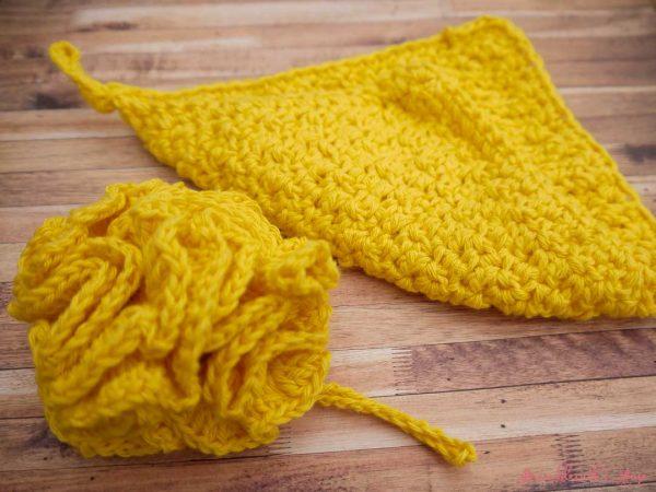 Bramblewick House Wash Ball & Flannel Yellow
