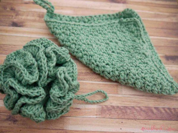 Bramblewick House Wash Ball & Flannel green