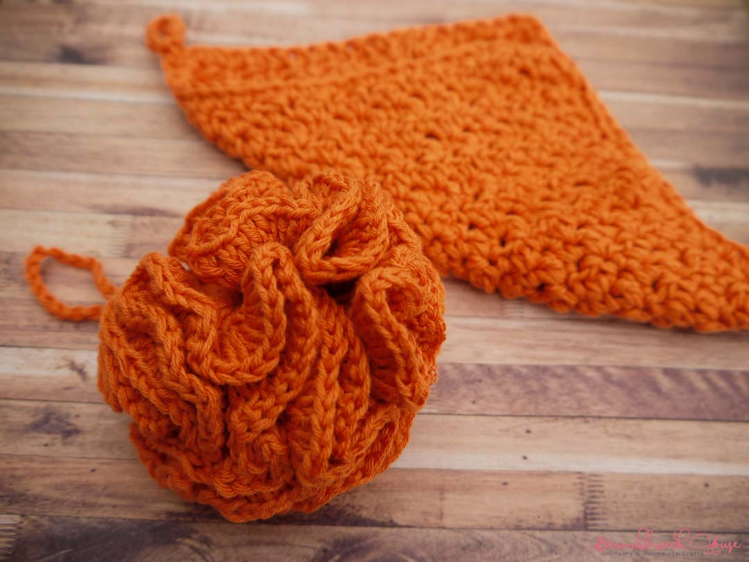 Bramblewick House Wash Ball & Flannel orange
