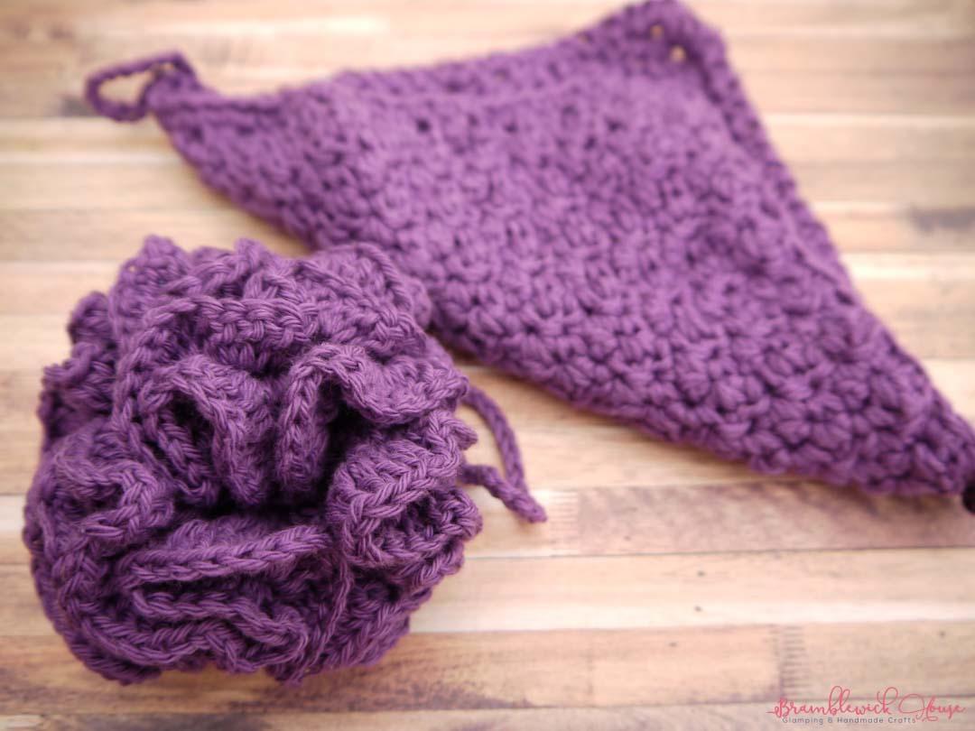 Bramblewick House Wash Ball & Flannel purple