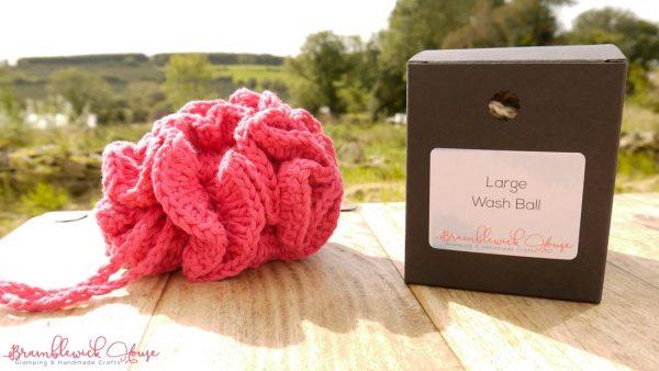 Bramblewick House Large Wash Ball Pink