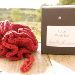 Bramblewick House Large Wash Ball Red