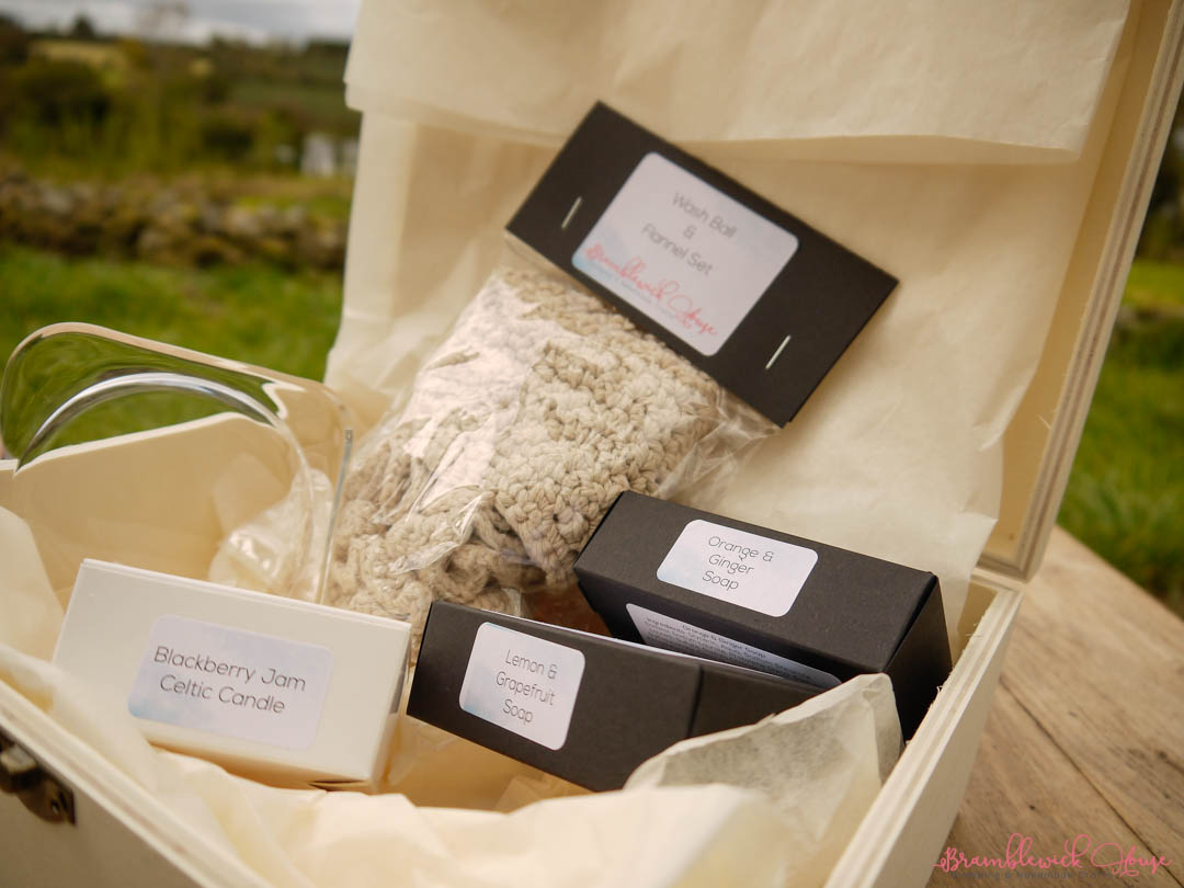 Bramblewick House Crafts Pamper Hamper Hand Crafted Luxurious Selection
