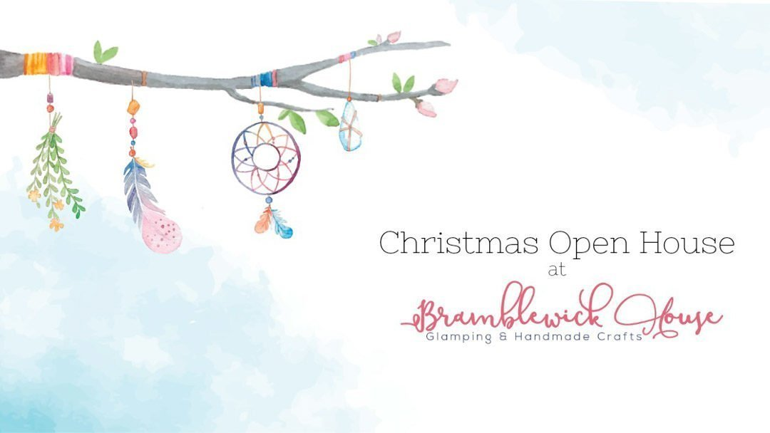 Christmas Open House Update