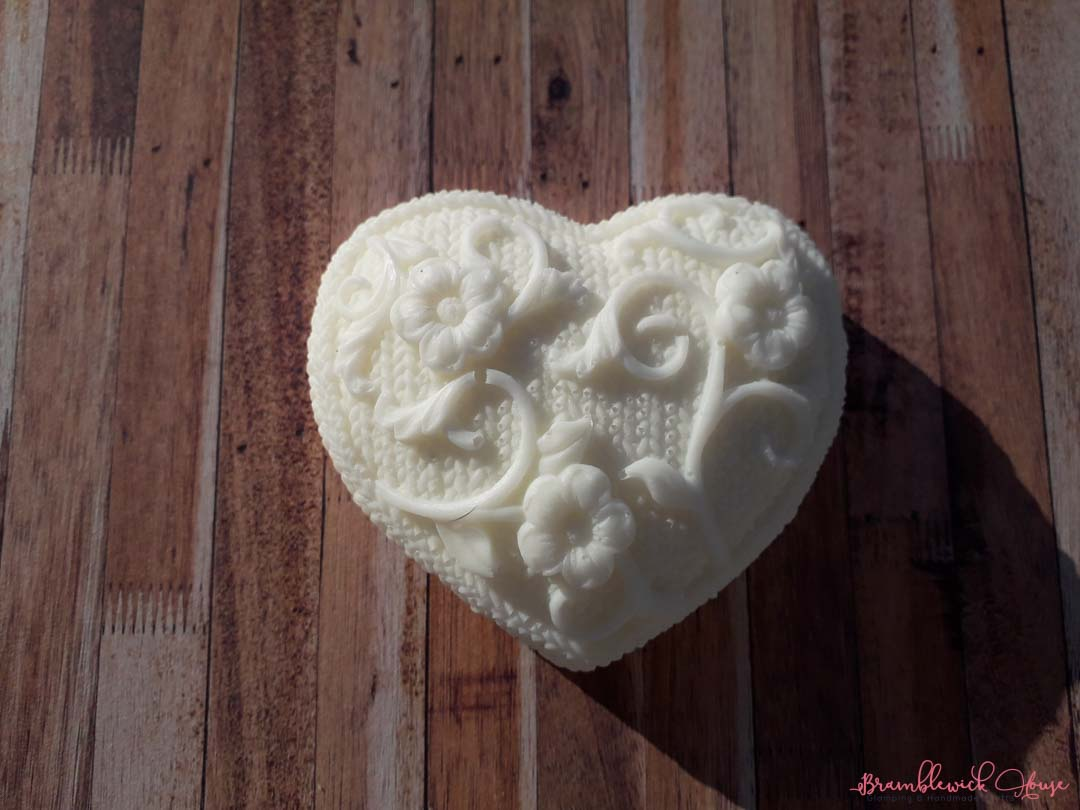 Bramblewick House Large Heart Soap