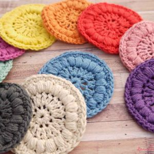Bramblewick House Crafts Face Scrubbies Crochet Cotton Luxurious Craft