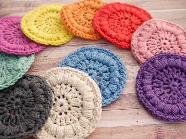 Bramblewick House Face Scrubbies colours