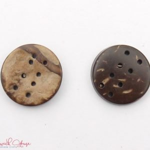 Bramblewick House Eight Hole Coconut Buttons
