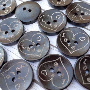 Bramblewick House Love Button