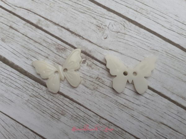 Bramblewick House Acrylic Butterfly Buttons