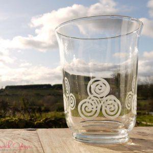 Bramblewick House Triskele Candle Vase.