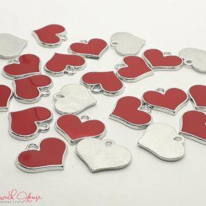Bramblewick House Charm Red Heart