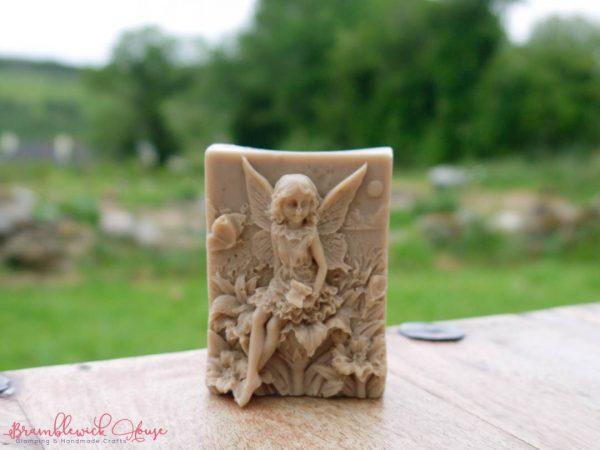 Bramblewick House Rose and Vanilla soap.