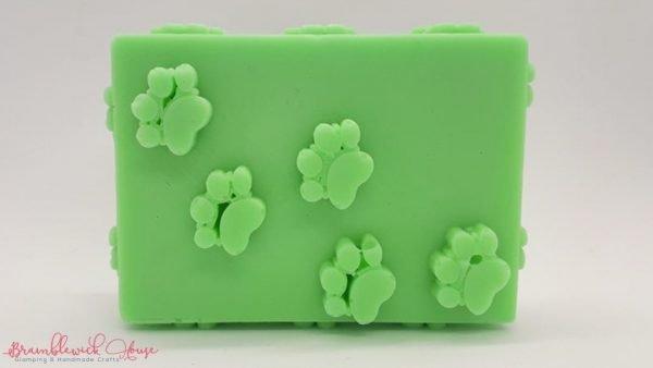 Bramblewick House Paw Print Soap