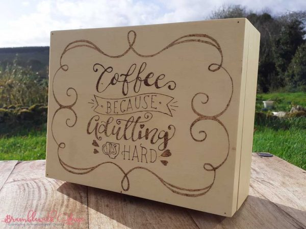 Bramblewick House Coffee because Adulting is Hard box