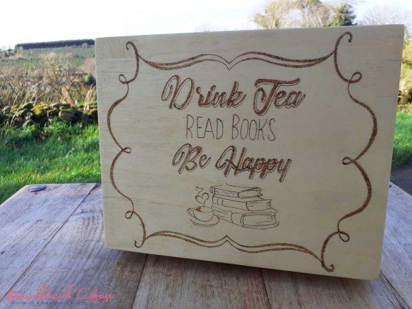 Bramblewick House Drink tea Read books Be happy