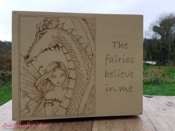 Bramblewick House Fairy and Dragon box