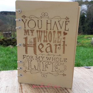 Bramblewick House You have my whole heart notebook
