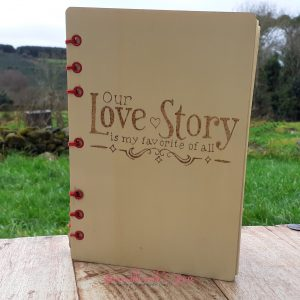 Bramblewick House Our Love Story Notebook