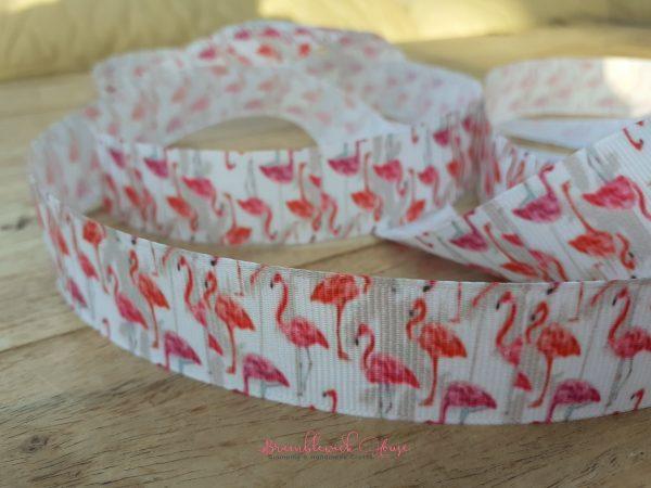 Bramblewick House Flamingo Ribbon
