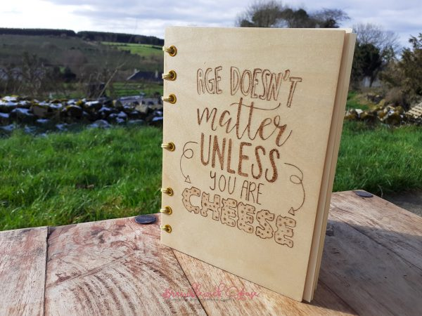 Bramblewick House Cheese notebook