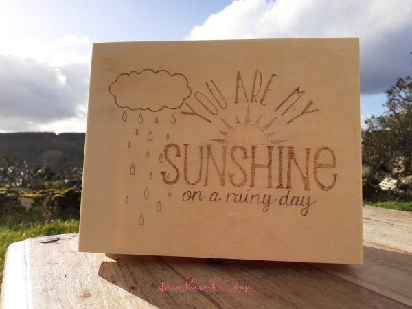 Bramblewick House You are my sunshine box