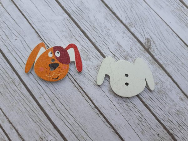 Bramblewick House Dog Button