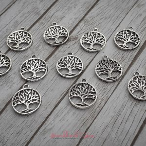Bramblewick House Tree of Life Charm