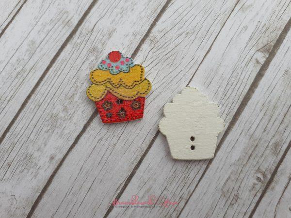 Bramblewick House Cupcake Buttons