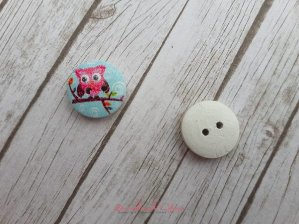 Bramblewick House Owl Button