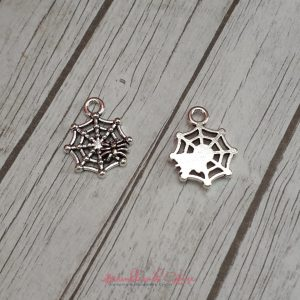 Bramblewick House Spiders Web Charm
