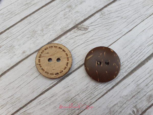 Bramblewick House Coconut Buttons