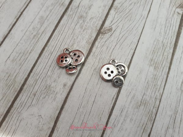 Bramblewick House Sewing Themed Charm Button