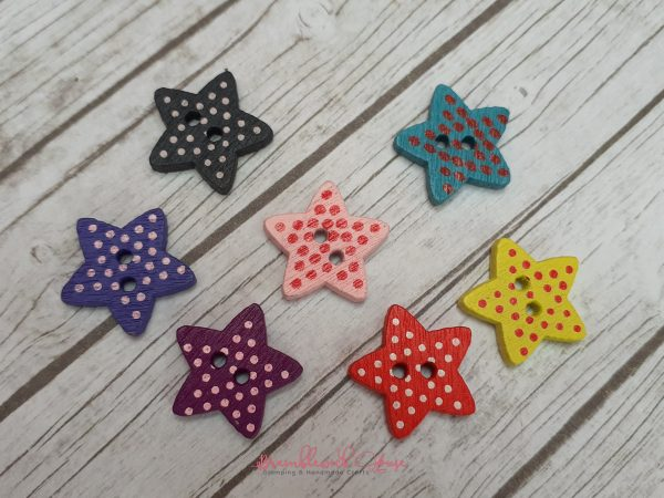Bramblewick House Star Button